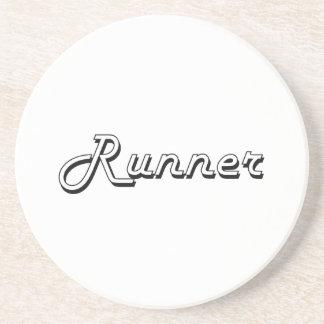 Runner Classic Job Design Drink Coaster