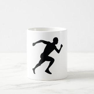 Runner Classic White Coffee Mug