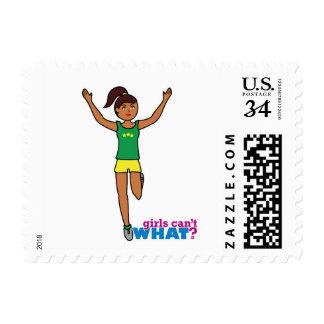 Runner - Dark - No Finish Line Postage Stamps