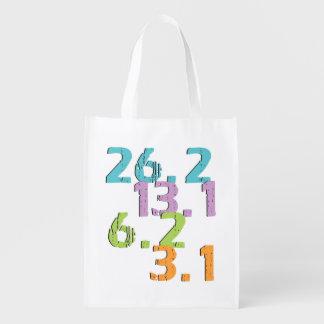 runner distances reusable grocery bags