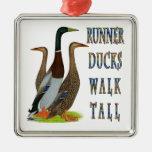 Runner Ducks Walk Tall Ornaments