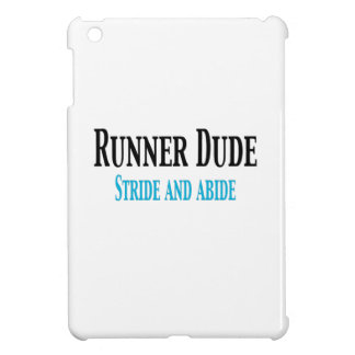Runner Dude:  Stride and Abide Cover For The iPad Mini