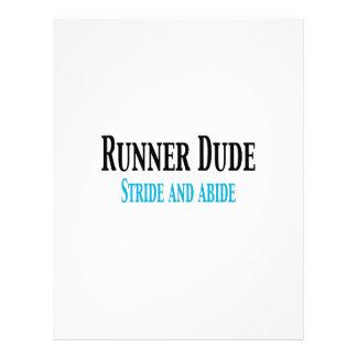 Runner Dude:  Stride and Abide Letterhead