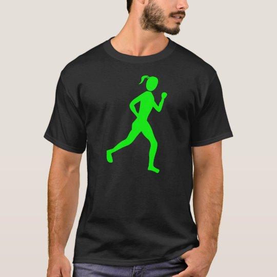 Runner (Female) - Green T-Shirt