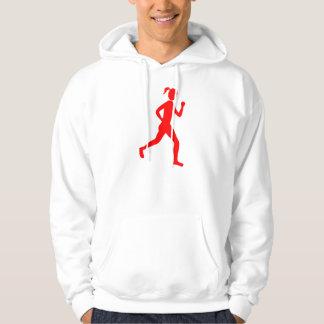 Runner (Female) - Red Hoodie