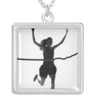 Runner Girl Pride Necklace