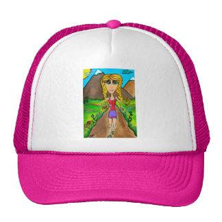Runner Girl Trucker Hat