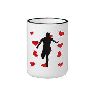 Runner Hearts Mugs