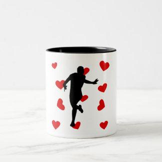 Runner Hearts Coffee Mug