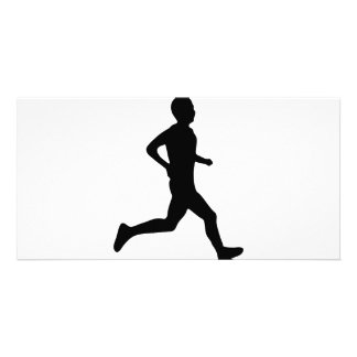 runner icon card