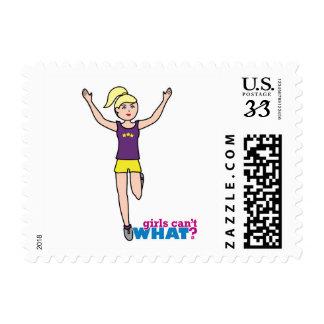 runner light blonde no finish line png postage
