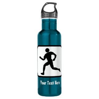 Runner Logo -- Customizable 24oz Water Bottle