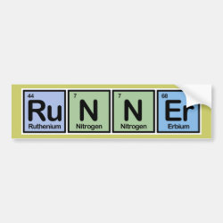 Runner Bumper Sticker