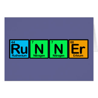 Runner Made of Elements Card