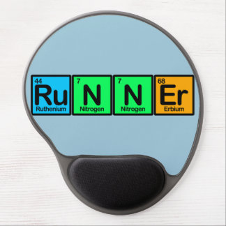 Runner Made of Elements Gel Mouse Pad