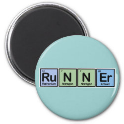Round Magnet with Runner design