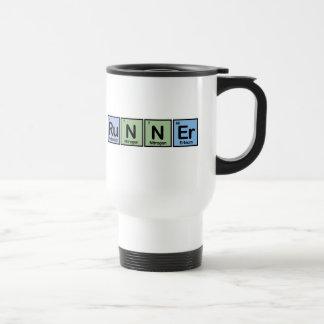 Runner made of Elements 15 Oz Stainless Steel Travel Mug