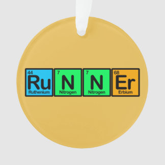 Runner Made of Elements Ornament
