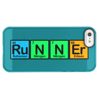Runner Made of Elements Permafrost iPhone SE/5/5s Case