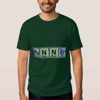 Runner made of Elements Tee Shirt
