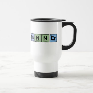 Runner made of Elements Travel Mug