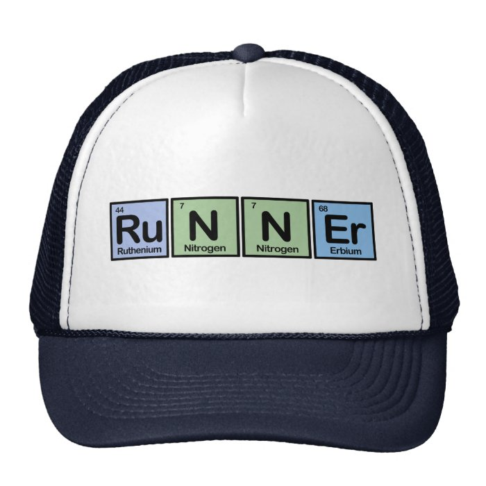 Runner made of Elements Trucker Hat