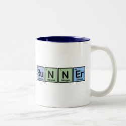Two-Tone Mug with Runner design