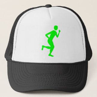 Runner (Male) - Green Trucker Hat