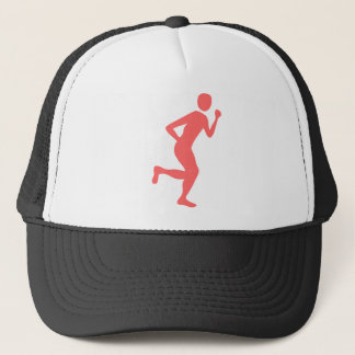 Runner (Male) - Tropical Pink Trucker Hat