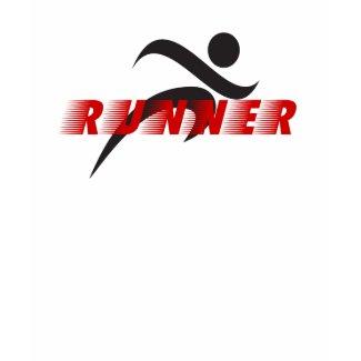 Runner Mens performance micro-fiber t-shirt shirt