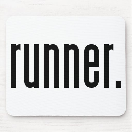 runner. mouse pad
