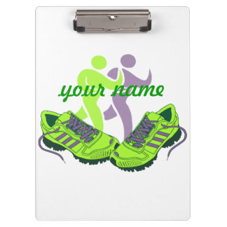 Runner Personalized Clipboards