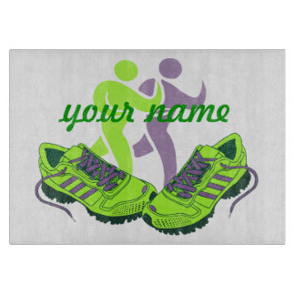 Runner Personalized Cutting Board