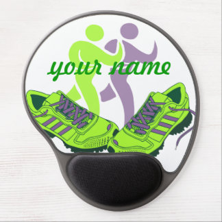 Runner Personalized Gel Mouse Pad
