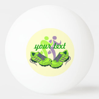 Runner Personalized Ping-Pong Ball