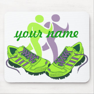 Runner Personalized Mouse Pad