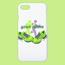Runner Personalized Name iPhone 8/7 Case