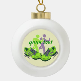 Runner Personalized Ornaments