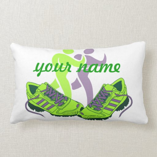 Runner Personalized Pillows