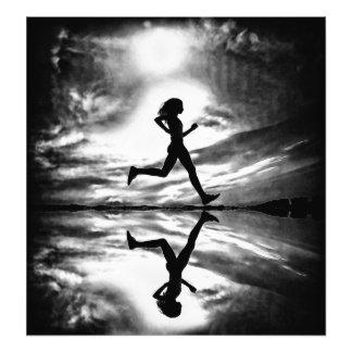 Runner Photo Print