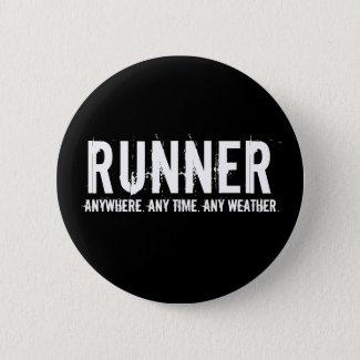 Runner Pinback Button