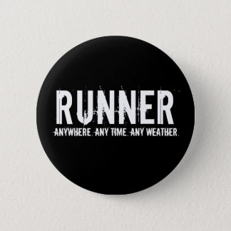 Runner Pinback Button