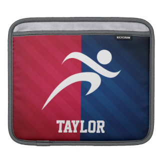 Runner; Red, White, and Blue iPad Sleeve