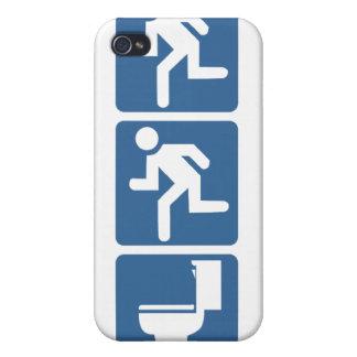 Runner-Runner Flush iPhone 4/4S Case