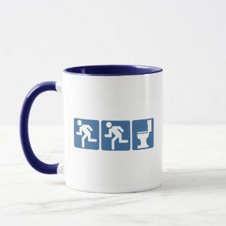 Runner-Runner Flush Mug