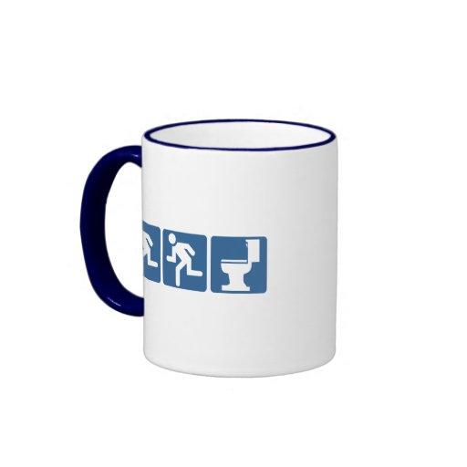 Runner-Runner Flush Ringer Coffee Mug