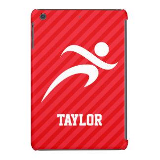 Runner; Scarlet Red Stripes iPad Mini Retina Case