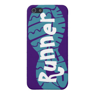 Runner shoe print iPhone SE/5/5s cover