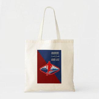 Runner Subject Budget Tote Bag