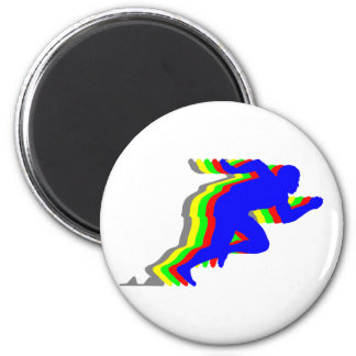 Runner T-shirts and Gifts. 2 Inch Round Magnet